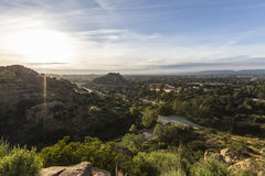 Stoney Point morning in Los Angeles California Royalty Free Stock Image