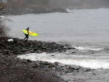 Stoney Point Surfer Image stock