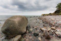 Stoney Shore Fotografia Stock Libera da Diritti