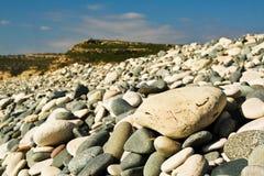 Stoney Strand Stockfoto