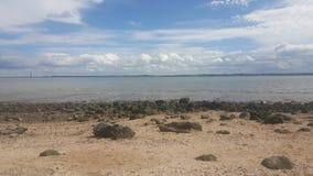 Stoney strand Arkivbilder