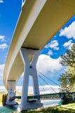 Stoney Trail Bridge Foto de Stock Royalty Free