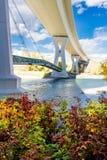 Stoney Trail Bridge Foto de Stock