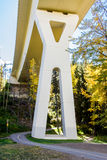 Stoney Trail Bridge Imagem de Stock Royalty Free