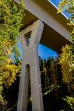 Stoney Trail Bridge Imagem de Stock