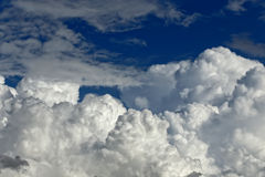 Stong clouds Stock Photography