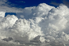 Stong clouds Royalty Free Stock Photo