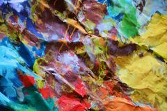 Stong colors painting background Royalty Free Stock Photos