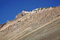 Stongdeklooster, Zanskar-Vallei, Ladakh, Jammu en Kashmir, India Stock Afbeeldingen