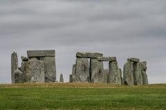 Stonhenge em Inglaterra Reino Unido Fotografia de Stock