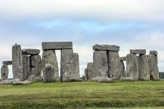 Stonehenge. The mysterious Stonehenge on Salisbury Plain, England stock photos