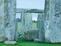 Stonhenge, site in England. View of the stonhenge site near Wiltshire, England stock images