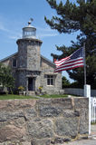 Stonington Harbor Lighthouse Royalty Free Stock Photo