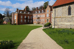Stonor Park House. View of Stonor Park House, Oxfordshire England Royalty Free Stock Photography