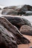 Stony Baltic beach Royalty Free Stock Photo
