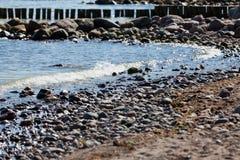 Stony beach Royalty Free Stock Image