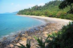 Stony beach Royalty Free Stock Images