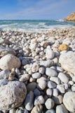 Stony beach Royalty Free Stock Photography