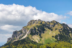 Stony Big Rozsutec peak - Little Fatra hills, Slovakia Royalty Free Stock Photo