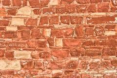 Stony brick wall Stock Images