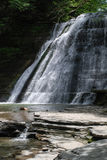 Stony Brook State Park Waterfall, New York, USA Royalty Free Stock Photo