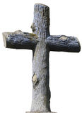 Stony christian cross Royalty Free Stock Photos