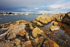 Stony coast Royalty Free Stock Images