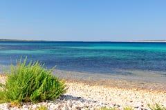 Stony coast Royalty Free Stock Image