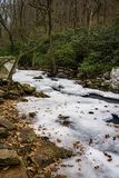 Stony Creek congelado foto de stock