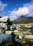 Stony Creek nas montanhas foto de stock