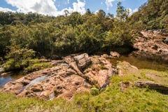 Stony Creek no tempo ensolarado imagens de stock