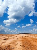 Stony desert. Royalty Free Stock Photography