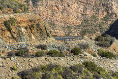 Stony desert of Klein Karoo in South Africa Royalty Free Stock Photos