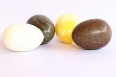 Stony eggs. Royalty Free Stock Images