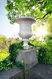Stony flowerpot Royalty Free Stock Image