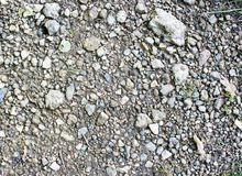 Stony ground Stock Image