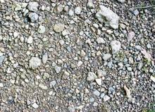 Stony ground. Close up; texture Stock Image
