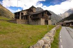 Stony house - Pyrenees Stock Image
