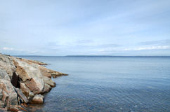 Islands of the White sea Royalty Free Stock Photos
