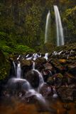 Stony Jumog Waterfall Central Java Stock Image