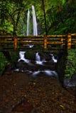 Stony Jumog Waterfall Central Java Stock Photography