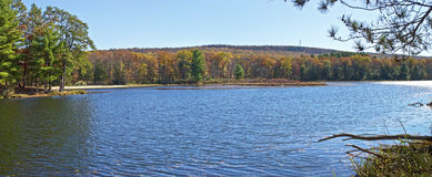 Stony Lake Panorama Stock Photography