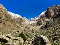 Stony mountain gorge. royalty free stock photos