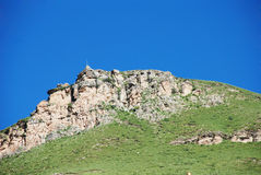 Stony pasture mountain Stock Image