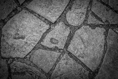 Stony pathway pattern Stock Photography