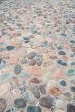 Stony pavement texture Stock Photo