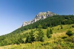 Stony peak Stock Image