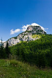 Stony peak and blue sky Royalty Free Stock Photography