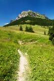 Stony peak and blue sky Royalty Free Stock Images