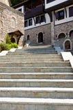 Stony stairs in Sv. Jovan Bigorski Monastery. Stock Images